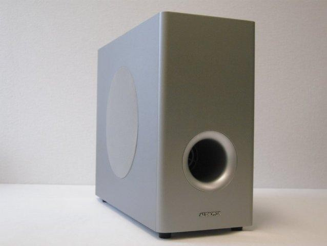 audiovox c 800 passiv subwoofer bassreflex 110 watt m ebay. Black Bedroom Furniture Sets. Home Design Ideas